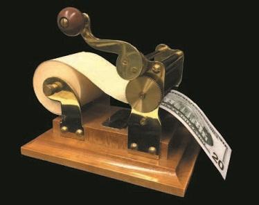 "The ""Magic Money Machine"". Photo: The Magic Circle"