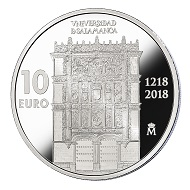 Spain / 10 euros / .925 silver / 40mm / 27g / Mintage: 6,000.