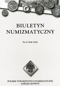 The quarterly bulletin of the Polish Numismatic Society.