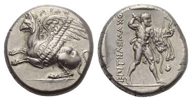 Los 32: Thrakien. Abdera. Stater, ca. 358/357 v. Chr.
