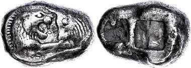 Los 25: Kroisos, Sardeis. Stater, 561-546 v. Chr. ss. Ausruf: 2.200 Euro.