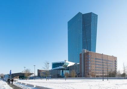 Die Europäische Zentralbank im Frankfurter Stadtteil Ostend. Foto: Epizentrum / CC BY-SA 3.0