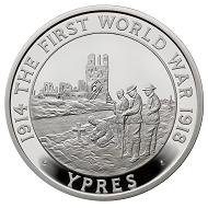 Great Britain / 5 GBP / .925 silver / 28.28 g / 38.61 mm / Design: John Bergdahl / Mintage: 1,918.
