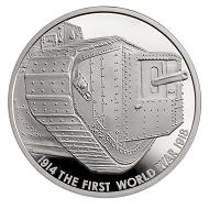 Great Britain / 5 GBP / .925 silver / 28.28 g / 38.61 mm / Design: Edwina Ellis / Mintage: 1,918.