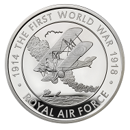Great Britain / 5 GBP / .925 silver / 28.28 g / 38.61 mm / Design: David Rowlands / Mintage: 1,918.
