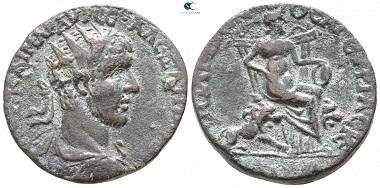 Hieropolis. Severus Alexander, Bronze, AD 222-235, Cyrrhestica. very fine.
