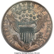1804 $1 Original PR62 PCGS Secure. Realized: $2.64 million.