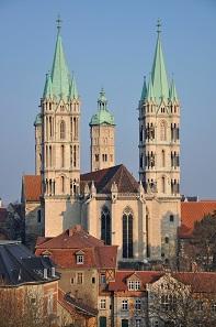 Naumburg, cathedral with West choir. Photo: Guido Siebert. © Förderverein Welterbe an Saale und Unstrut.