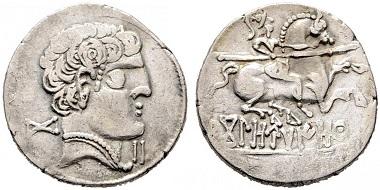 Kolounioku mint denarius. Realised: 6,900 euro.