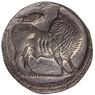Aminaia? (Unteritalien). Stater, ca. 530 v. Chr. KHM / Wien.
