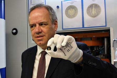 Dr. Thomas Dress, Beauftragter für das Münzwesen des Bundes.