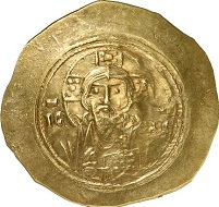 Michael VII, 1071-1078. Histamenon. Sear 1868. From auction Gorny & Mosch 176 (2009), 2777.