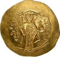 Alexios I Komnenos, 1081-1118. Hyperpyron. Sear 1924. From Gorny & Mosch auction 176 (2009), 2782.