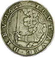Lippstadt. Sog. Pfaffenfeindtaler 1622 - Klaus Erdmann / Wikipedia.