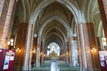 The view of the cathedral's nave. Picture: KW.