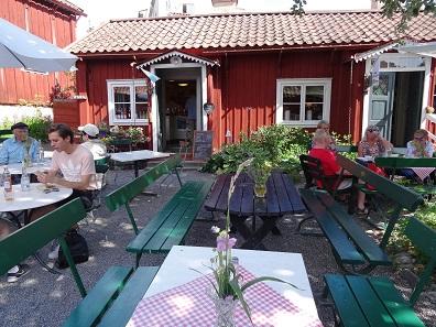 The Grassagarden Café. Picture: KW.))