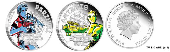 Tuvalu / 1oz .9999 silver / 31.107g / 40.60mm / Mintage: 5,000.