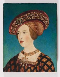 Mary of Hungary, Hans Maler, Innsbruck, 1519/20. Photo: Kunstsammlungen der Veste Coburg, Stadt Coburg und Bundesrepublik Deutschland