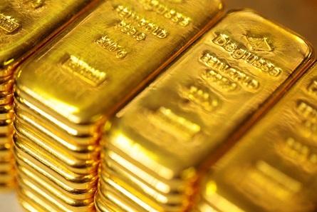 Degussa Goldbarren. Foto: Degussa Goldhandel GmbH.