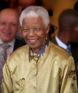 Nelson Mandela served as President of South Africa from 1994 to 1999. Image: South Africa The Good News / CC BY 2.0.