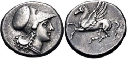 Lot 3. Sicily, Syracuse. Agathokles. 317-289 BC. AR Stater. VF. Estimate: 500 USD.