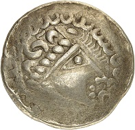 No. 36. Helvetii (Switzerland / Southwest Germany). Electrum stater, late second to first third of the first century BC. Very rare. Very fine. Estimate: 2,000 euros.