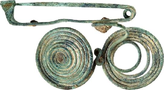 No. 469. Italic quatrefoil fibula. Hallstatt period, ca 750-600 BC. Estimate: 500 euros.