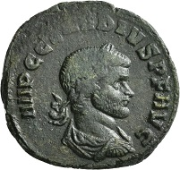 No 1079. Claudius Gothicus, 268-270. As, Rome, first issue, December 268 to the beginning of 269. Rare. Very fine. Estimate: 750 euros.