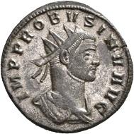 No. 1537. Probus, 276-282. Antoninianus, Siscia, second issue, 276. Extremely rare. Extremely fine. Estimate: 2,000 euros.