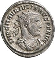 No. 1784. Julian of Pannonia, 284-285. Antoninianus, Siscia. Second half of December of 284. Very rare. Extremely fine. Estimate: 2,500 euros.
