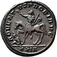 No. 1547. Probus, 276-282. Antoninianus, Siscia, third issue, 277. Probably unpublished. Nearly extremely fine / Very fine. Estimate: 1,000 euros.