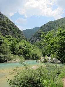 River of the Dead: Acheron. Photograph: KW.