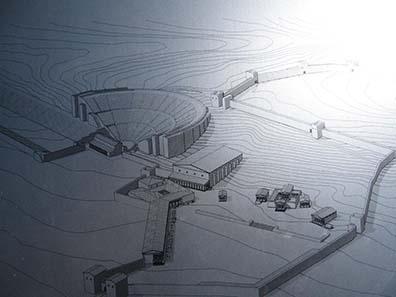 Plan des heiligen Bezirks. Foto: KW.