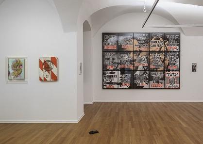 Bekannte Künstler wie Andy Warhol und Gilbert & George findet man im Traklhaus. Foto: Andrew Phelps.