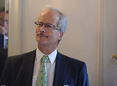Der scheidende Präsident Marcel Häberling.