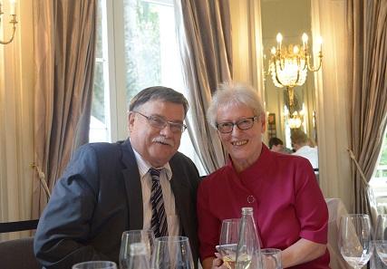 Lutz Neumann mit seiner Frau Margret.