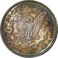 Lot 1225: 1895-O Morgan Silver Dollar. MS-66 (PCGS). $336,000.