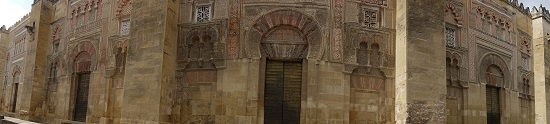 Die Mezquita ist im Stadtbild von Cordoba eher unauffällig. Foto: KW.