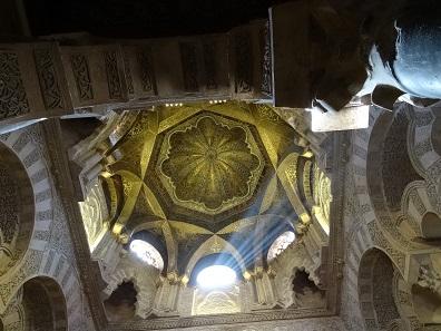 Eine unglaubliche Pracht: Der Blick nach oben. Foto: KW.