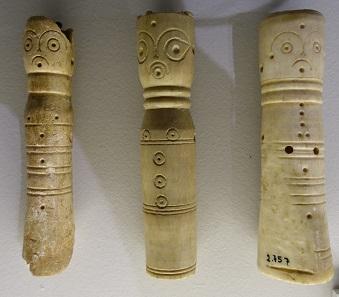 Schachfiguren aus dem 10. Jh. n. Chr. Foto: KW.