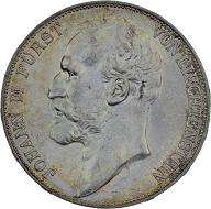 Fürst Johann II. 5 Franken 1924, Bern.