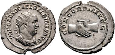 Los 341: Römische Kaiserzeit. Balbinus, 238. Antoninianus, Januar/Februar-Mai 238, Rom. ss-vz/vz. Startpreis: 200 Euro.