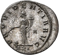 No. 1472. Antoninian, Rome, first issue, fall of 276. From Jacquier auction 45. Very rare. Extremely fine. Estimate: 150 euros. The senate quickly acknowledged Probus. In the fall of 276 already, the Roman mint was producing coins in his name.