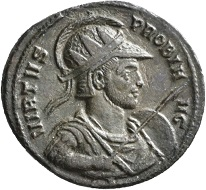 No. 1531. Antoninian. Siscia, second issue, 276. From Jacquier auction 45. Nearly extremely fine / Very fine. Estimate: 250 euros. This celebratory coinage was minted on the occasion of the emperor's arrival in his native province.