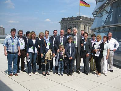 Besichtigung des Reichstags.