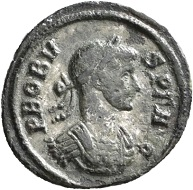 No. 1502. Denarius, Rome, sixth issue, 281. From Jacquier auction 45. Very rare. Very fine. Estimate: 500 euros.
