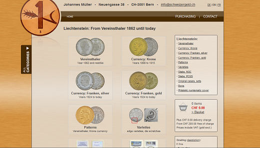 You can now find all Liechtenstein coins starting from 1862 in the Online Catalog of Swiss Coins and Banknotes.
