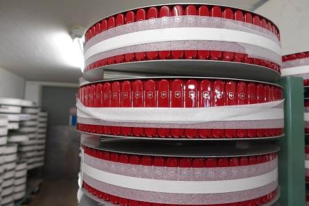 Die Schalen der Schweizer Armeemesser. Foto: UK.