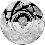 Australia / 5 dollars / silver .999 / 1 oz / 39.62 mm / Mintage: 5,000.