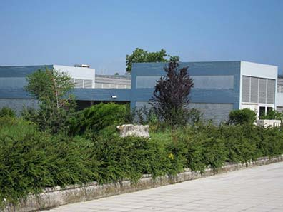The Archaeological Museum of Ioannina. Photograph: KW.